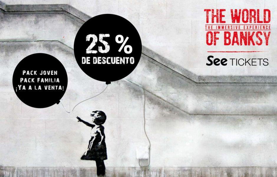 Descuento Banksy Barcelona