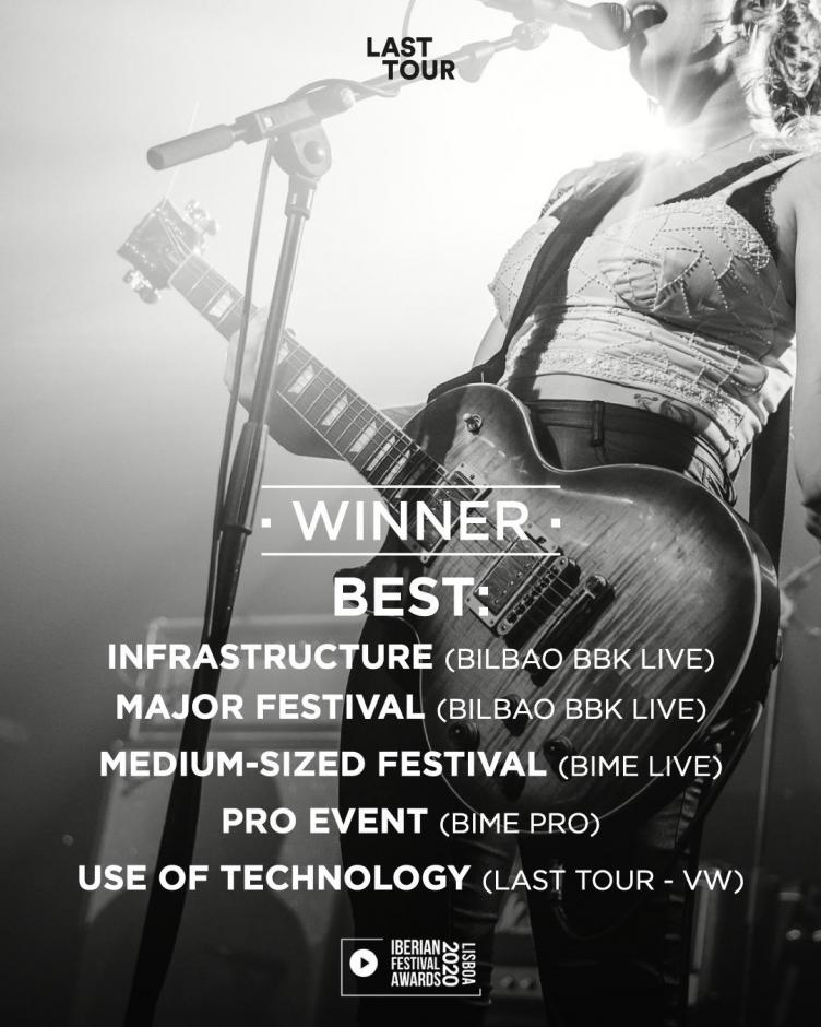 Premios Last Tour